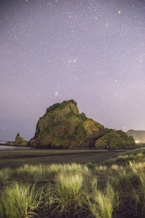 Lion Rock, Piha, 2019